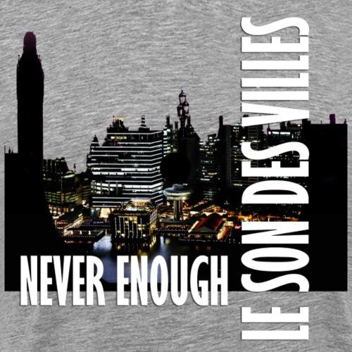 Le Son Des Villes : Vinyl by night - T-shirt Premium Homme