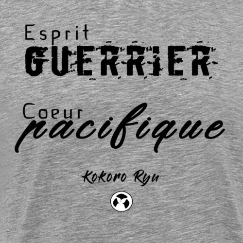 ESPRIT GUERRIER COEUR PACIFIQUE - T-shirt Premium Homme
