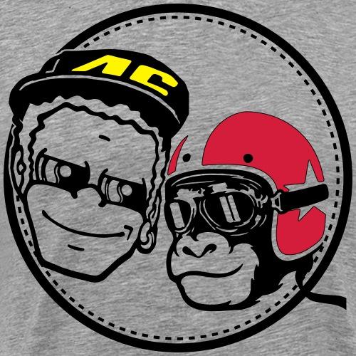 Vale Monkey - Männer Premium T-Shirt