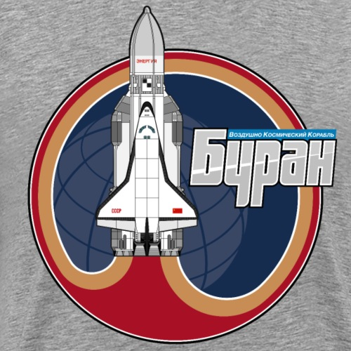 Buran shuttle - Men's Premium T-Shirt