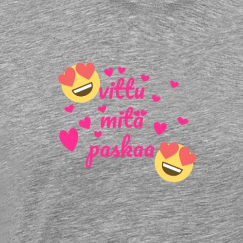 Fuck vad skit - Premium-T-shirt herr
