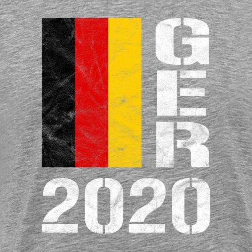 Deutschland 2020 Germany 2020 GER 2020 Fußball Fan - Männer Premium T-Shirt