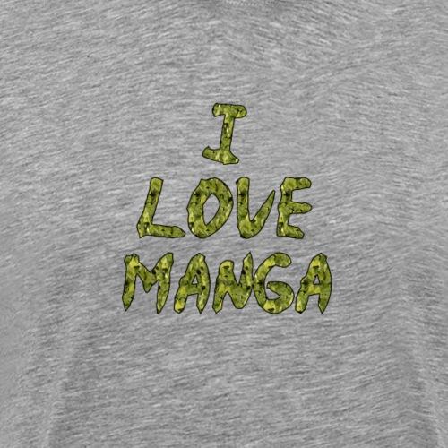 I Love Manga - T-shirt Premium Homme