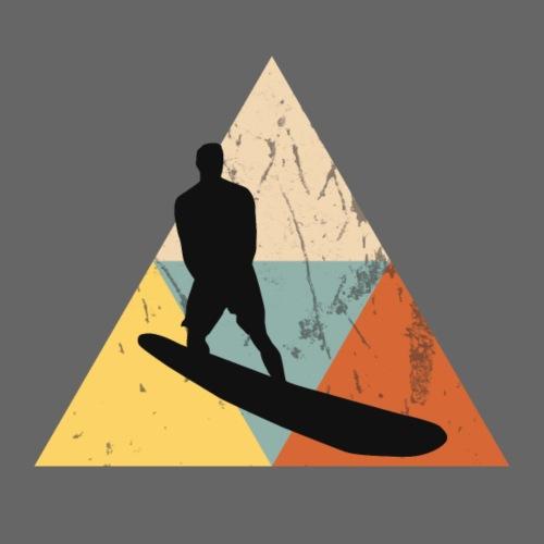 Wellenreiten Retro-Stil, Vintage - Männer Premium T-Shirt
