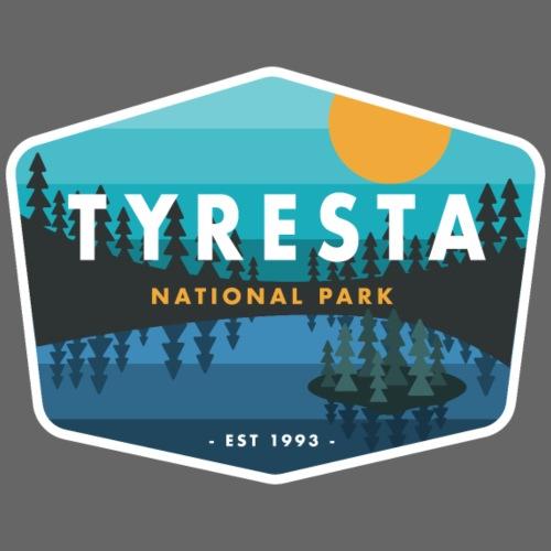 Tyresta National Park Badge - Men's Premium T-Shirt