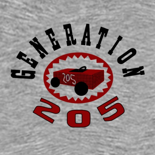 205 Generation Emblem - Men's Premium T-Shirt