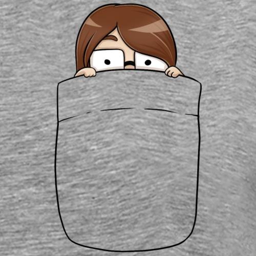 Schmolli Hide Tasche - Männer Premium T-Shirt