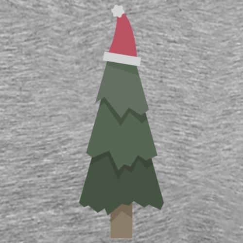 Christmas Hat Tree - Mannen Premium T-shirt