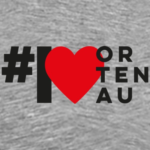 # I LOVE ORTENAU - Männer Premium T-Shirt