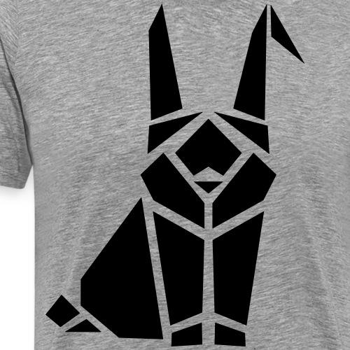 Kaninchen Hasen Häschen Bunny Langohr Mümmelmann - Männer Premium T-Shirt