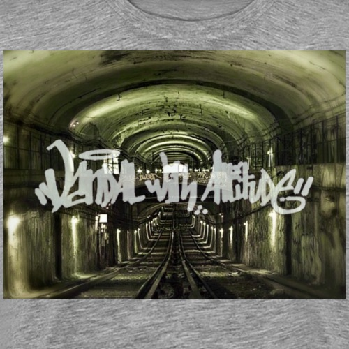 White subway vandal by VWA - T-shirt Premium Homme