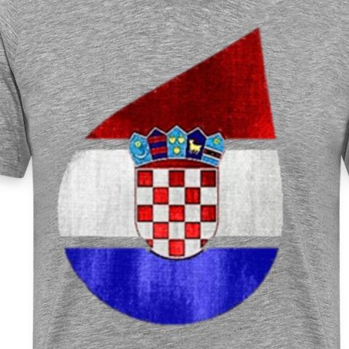 Croatie - T-shirt Premium Homme