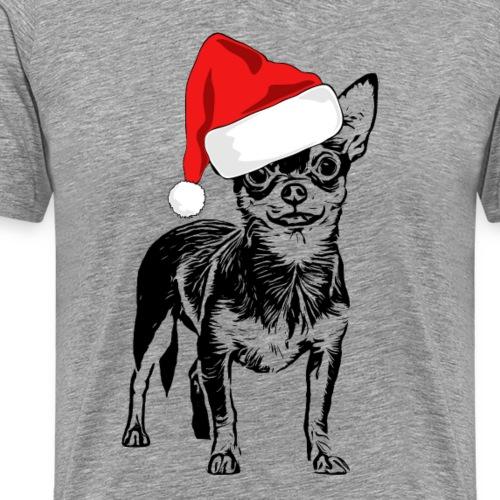Weihnachten Chihuahua Hunde Geschenk Geschenkidee - Männer Premium T-Shirt