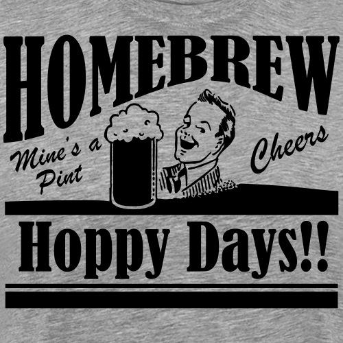 Hoppy Days - Men's Premium T-Shirt