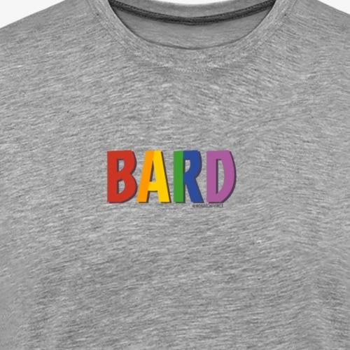 Bard Pride (Rainbow) - Men's Premium T-Shirt