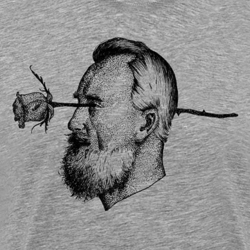 The Rose [BLACK] - Men's Premium T-Shirt