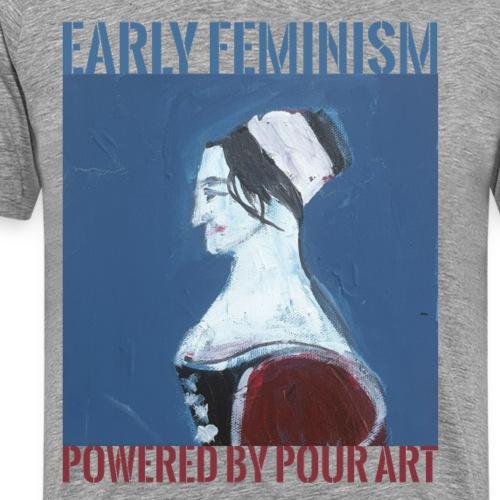 Early Feminism - Herre premium T-shirt