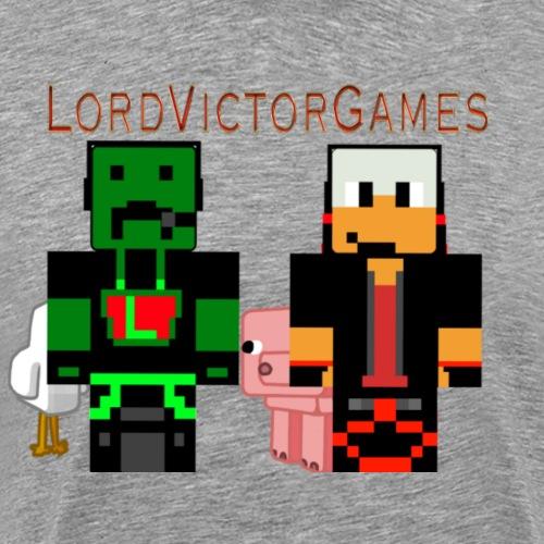 LordVictorGames With Sil - Mannen Premium T-shirt