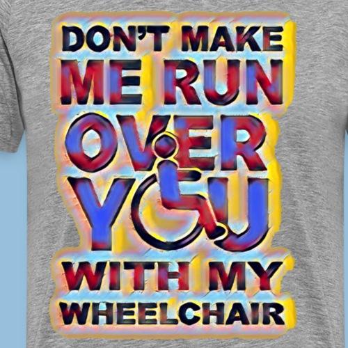 Runover 010 - Mannen Premium T-shirt