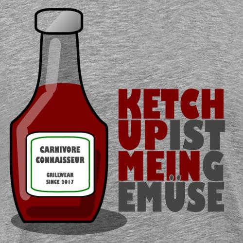Ketchup ist mein Gemüse (Grillshirt) - Männer Premium T-Shirt