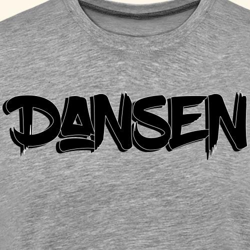 DansenLogo - Premium-T-shirt herr