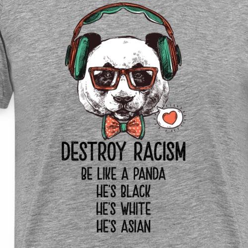 I'm mostly Peace, Love and Light Funny Yoga Shirt - Männer Premium T-Shirt
