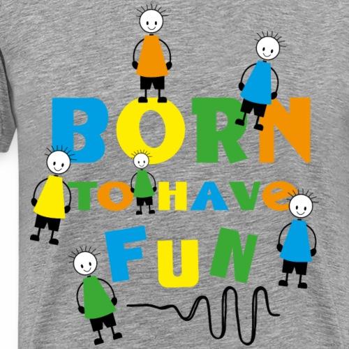 Funny Kids - Männer Premium T-Shirt