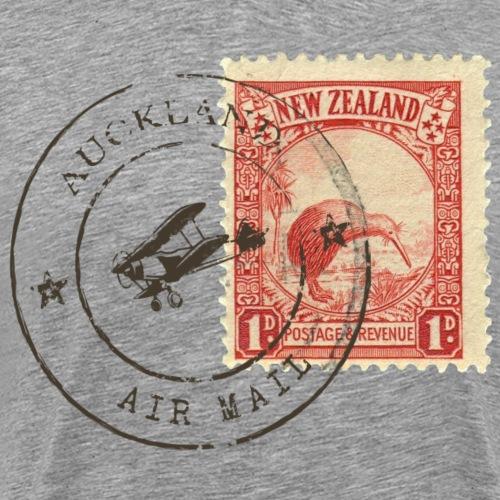 Kiwi stamp - Männer Premium T-Shirt