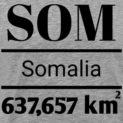 somalia - Premium T-skjorte for menn