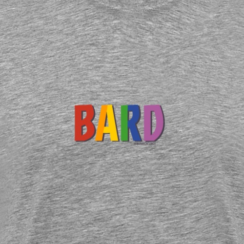 Bard Pride (Rainbow) - Men's Premium T-Shirt