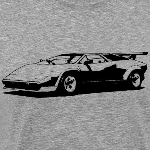 Sportscar - Männer Premium T-Shirt