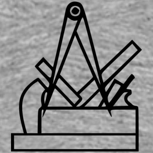tischler logo - Männer Premium T-Shirt