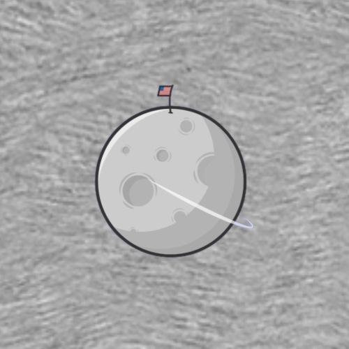 Moon LIB PICTURE - T-shirt Premium Homme