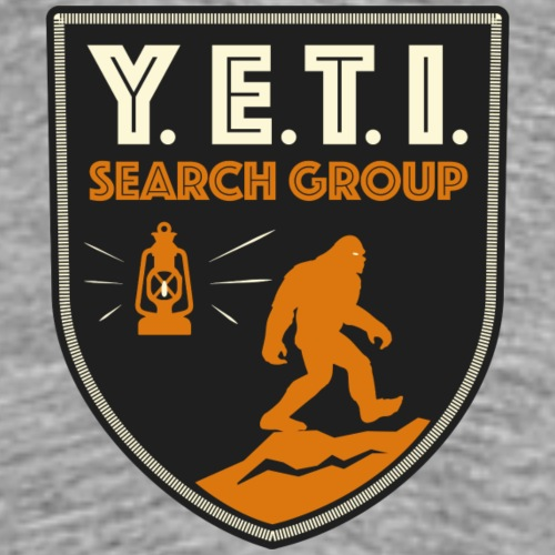 Blason Yeti Search Group - T-shirt Premium Homme