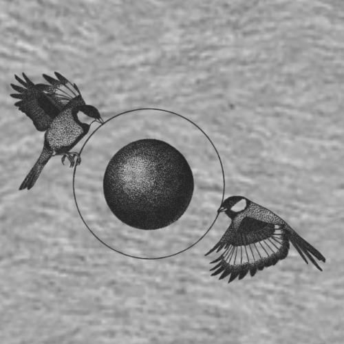 The Pulling Birds - Logo [BLACK] - Men's Premium T-Shirt