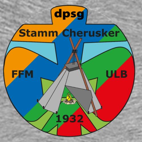 Cherusker Logo - Männer Premium T-Shirt