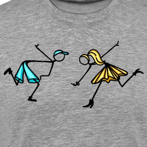 la_coppia_1 - Maglietta Premium da uomo