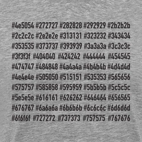 50 Shades - Maglietta Premium da uomo