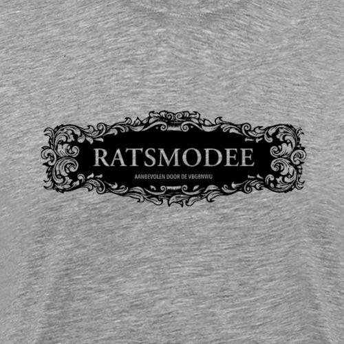 Ratsmodee deco ZWART - Mannen Premium T-shirt