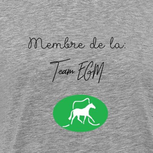 Membre de la Team EGM - T-shirt Premium Homme