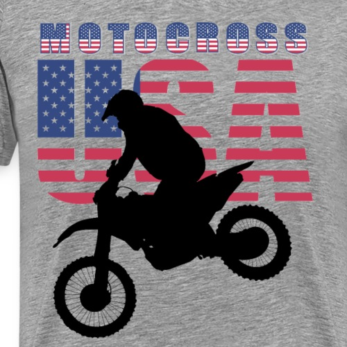 USA Motocross Riders and Bikers - Männer Premium T-Shirt