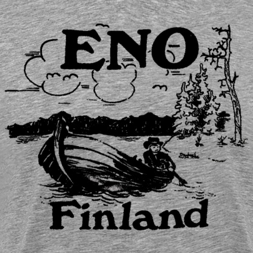 Kop kop sanoi Eno veneessä - Miesten premium t-paita