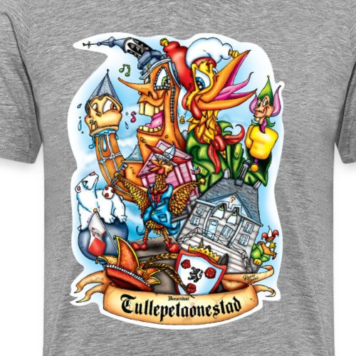 Tullepetaonestad - Mannen Premium T-shirt