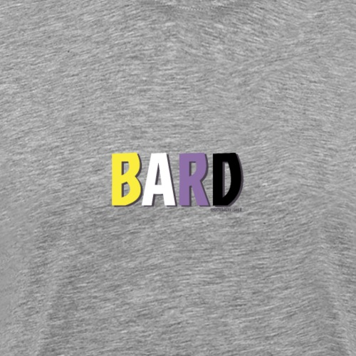 Bard Pride (Non Binary) - Men's Premium T-Shirt