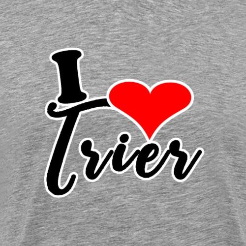 Ich liebe Trier - Design | I Love you Trier - Männer Premium T-Shirt