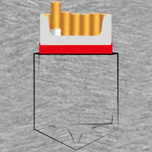 cigarette pocket - Maglietta Premium da uomo