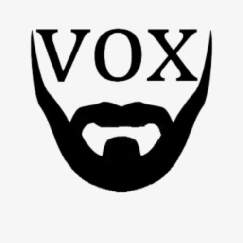 Logo Vox Nero - Maglietta Premium da uomo