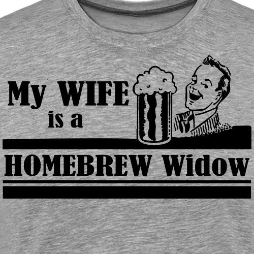 homebrew widow - Men's Premium T-Shirt