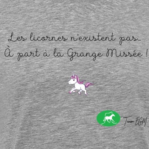 Les licornes n'existent pas... A part aux EGM ! - T-shirt Premium Homme