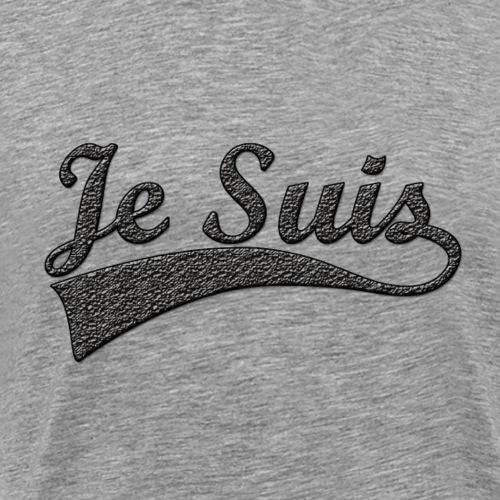 Je-Suis T-shirt - Mannen Premium T-shirt